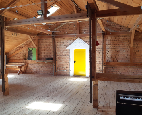 Meditationsraum am Jugendhaus Berghof