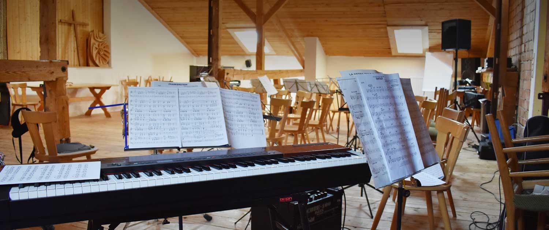 Klavier am Berghof