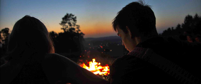 Lagerfeuer-Nacht