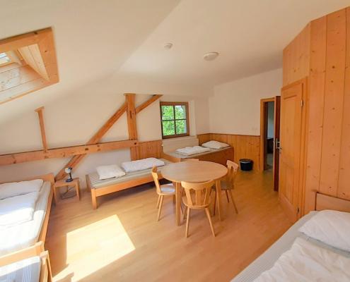 Berghof Agatharied - Mehrbettzimmer mit Bad, 2. Stock