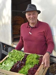 Gemüselieferant Xaver Ottinger