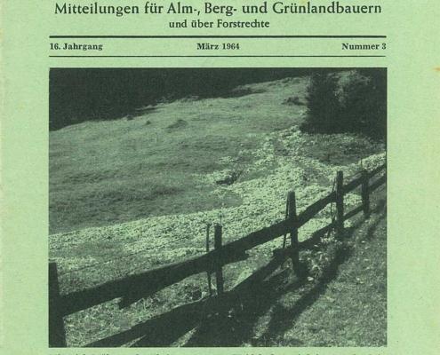 Der Almbauer - Ausgabe 3/1964