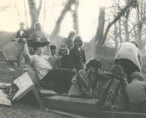 Die Lagerfeuernächte waren für viele Gastkinder ein prägendes Erlebnis