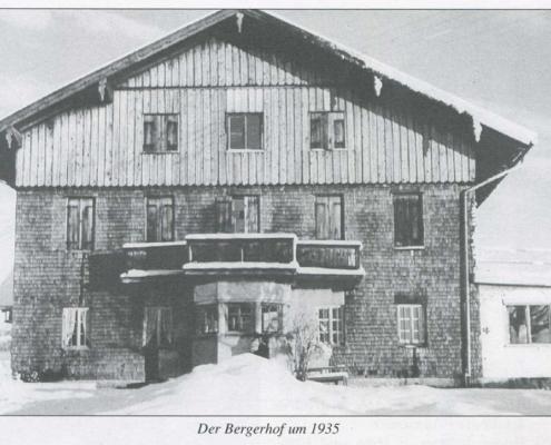 Bergerhof um 1935