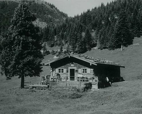 Anton Zugliani pachtete 1945 die Bayeralm