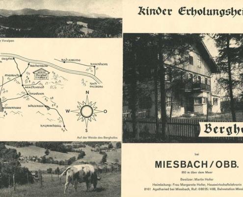 Werbung um 1960