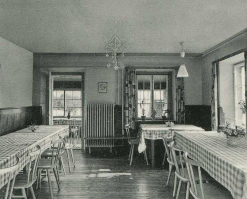 Speisesaal im Kinderheim