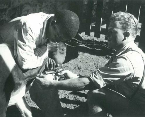 Martin Hofer in Afrika