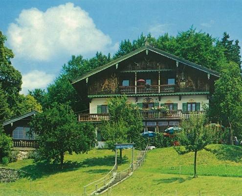 Unterbuchbergs Westfassade der Heimathof von Margret Hofer