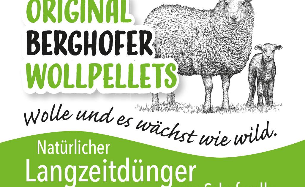 Original Berghofer Wollpellets