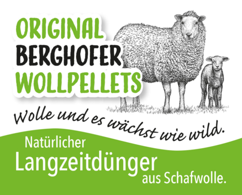 Original Berghofer Wollpellets